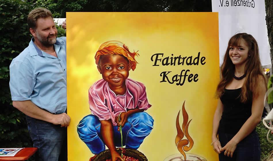 Fairtrade Großbild für Gröbenzell