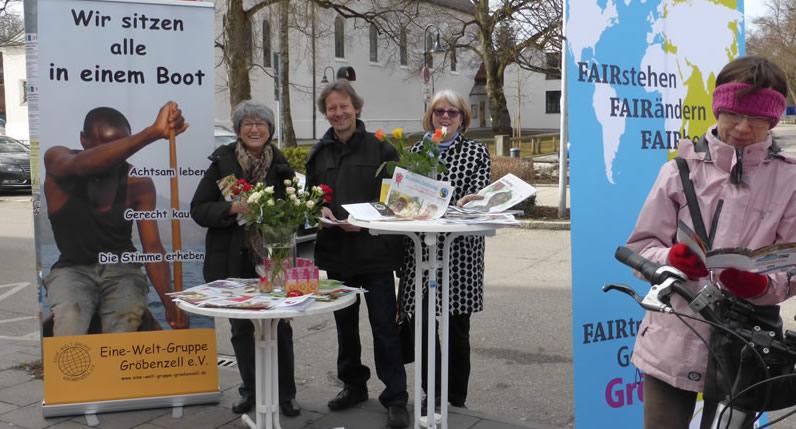 Fairtrade Rosen: Kooperation mit Gröbenzeller Gärtnereien